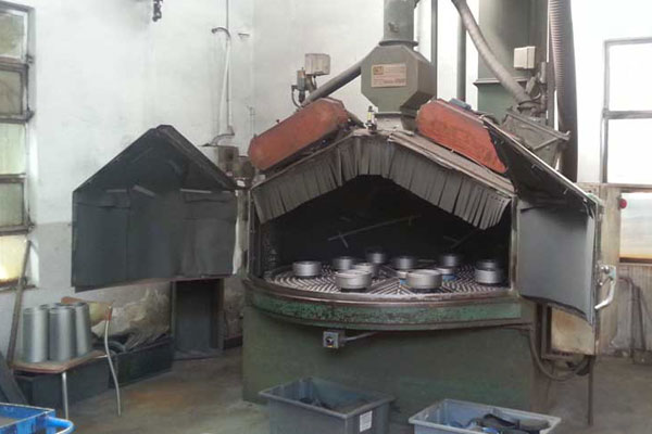 Used Shotblasting machines with rotary table